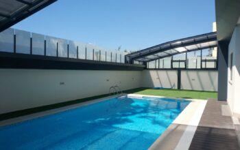 cubierta de piscina a medida